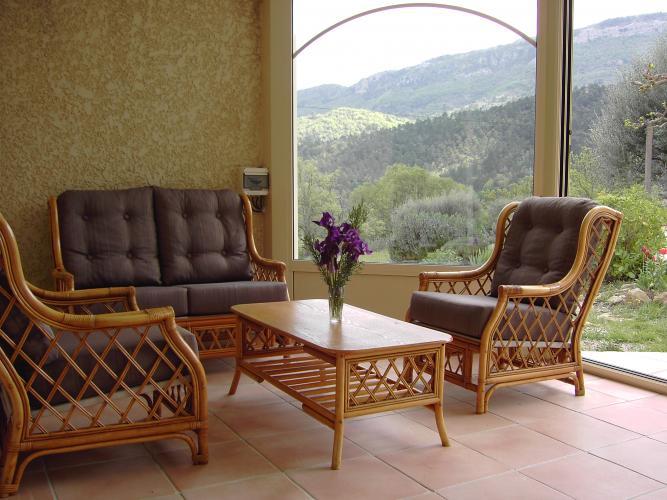 Detailed information of the villa villa bw - Woonkamer rotan voor veranda ...